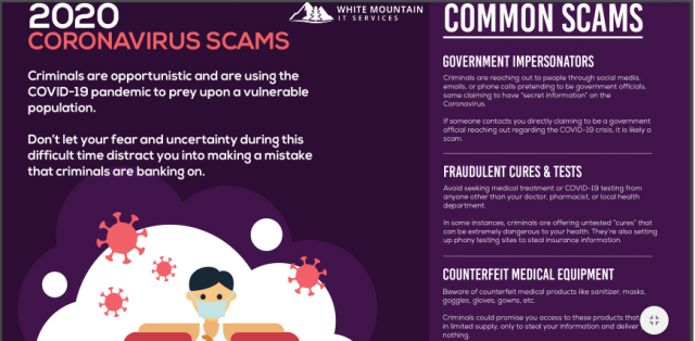 COVID-19 Scams to Watch Out For