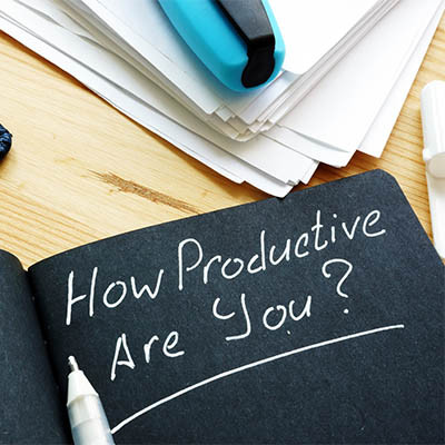4 Tips to Help You Be More Productive