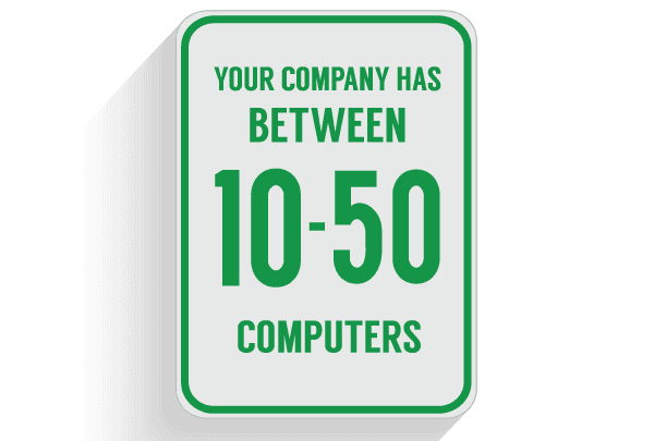 IT Support for 10-50 computers